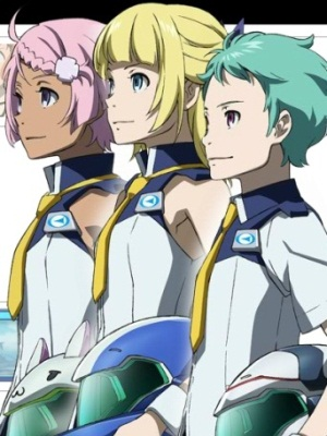 Eureka Seven AO: Jungfrau no Hanabanatachi